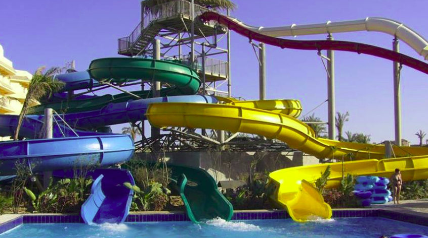 Sindbad Water Park in Hurghada