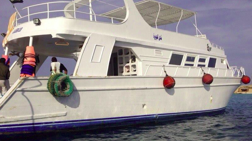 Rent yacht in Hurghada for fun day on the sea!