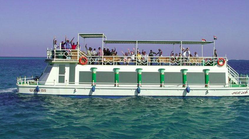 Trip on the Aqua scope-Catamaran in Hurghada - enjoy your holidays!