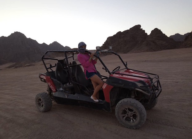 Safari cu Spider car (Buggy/ATV) din Hurghada